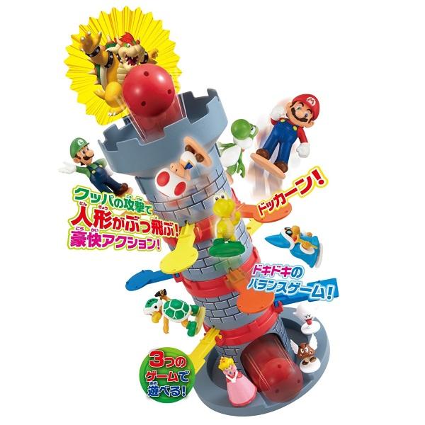 スーパーマリオ ぶっ飛びタワーゲーム